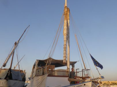 DAH2018S The amazing Dahabiya Sandal only 4 years old for sale and ready to sail in the Nile
