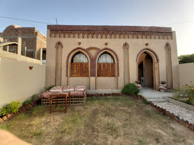 WB2003S A Special Nubian design villa for sale in Egypt, Luxor