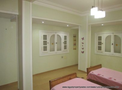 EB2019R Amazing two bedrooms apartment for rent in the East Bank of Luxor