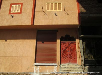 EB2014R Three storey partially finished apartment building on East Bank of Luxor