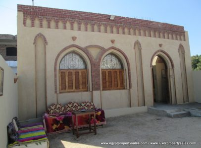 WB2003R A Special Nubian design villa on front of Nile in Ramla