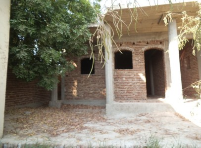WB021S Unfinished ground floor villa with a garden nile street opposite to Winter Palace Hotel Ramla