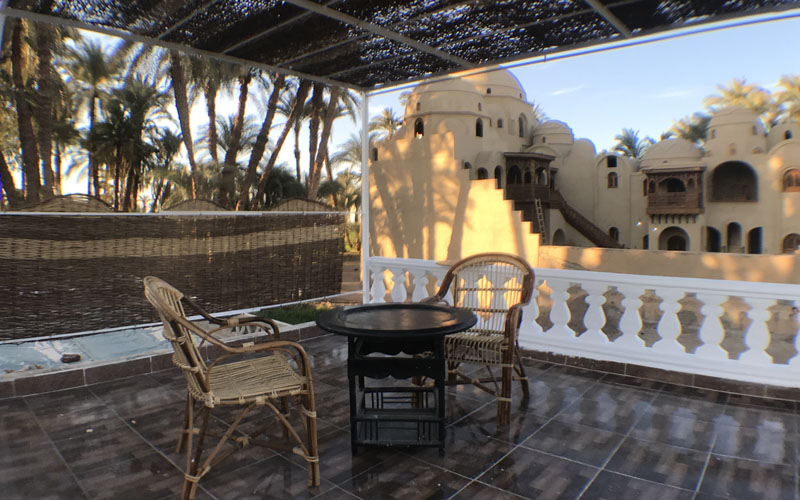WB1903R Egyptian folkloric style Bungalow for rent in West Bank Luxor