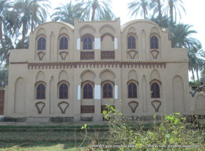 WB1944S Two storey Nubian design Villa in Djorf near to Ramla West bank