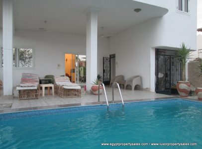 WB1819R Luxury apartment for rent in Luxor with swimming pool
