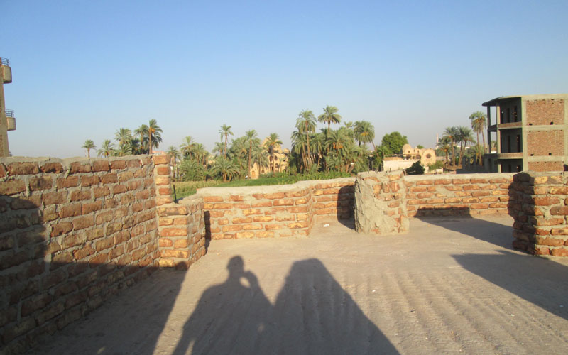 WB1932S Spacious 2 storey house with garden in West Bank Luxor