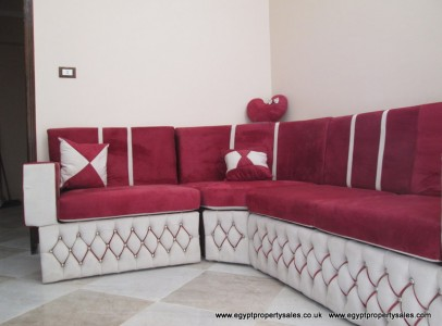 WB105R Two bedroom furnished apartments in New Qurna.