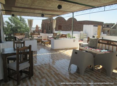 WB1841R Modern style furnished flat for rent in West Bank of Luxor
