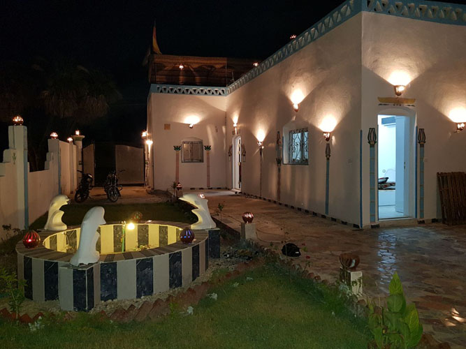 WB1835S Tow bedrooms bungalow house in West Bank of Luxor city