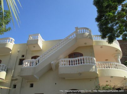 WB205S Beautiful three bedrooms villa for sale and rent in West Bank of Luxor