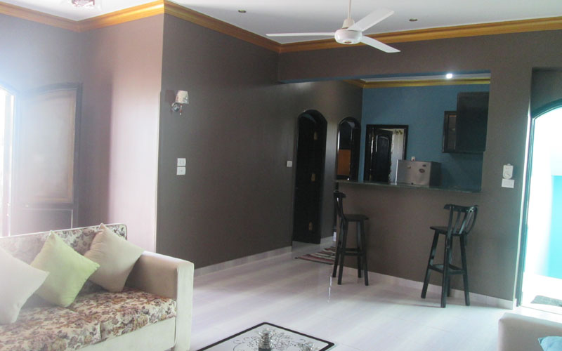 WB1720R Two bedroom apartment in Memnon area of West Bank Luxor