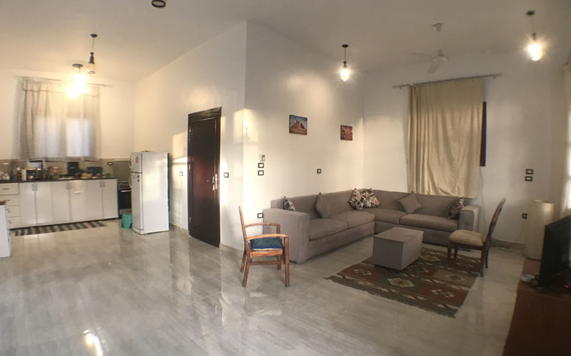 WB1902S Modern style bungalow for purchase in West bank Luxor Egypt