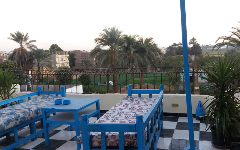 WB0005R One bedroom cosy rooftop apartment for rent & sale in Luxor