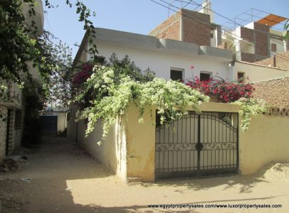 SOLD!! WB1727S Two storey house for sale in Luxor with front & rear gardens