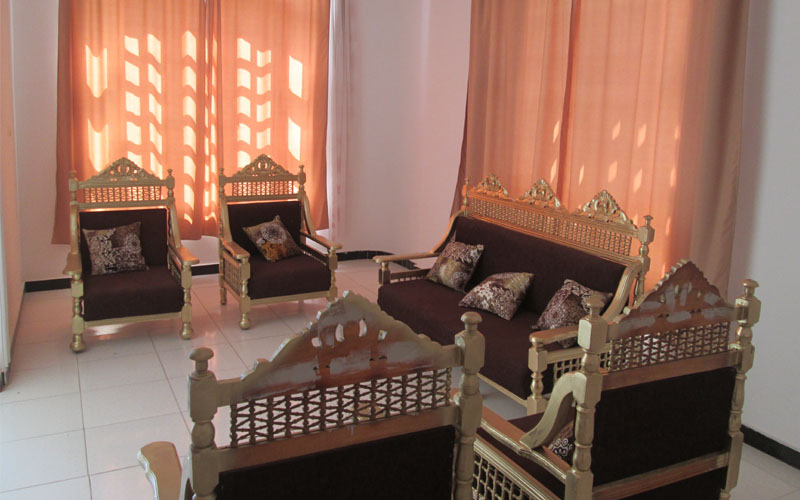 WB1906R Spacious apartment for rental booking set on the Nile front Luxor
