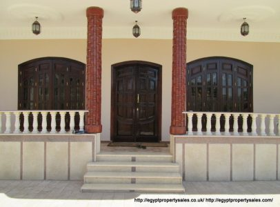 WB328R Stunning villa for rent with Nile view in Djorf Luxor