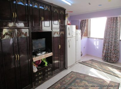 EB1812S Nile front Flat for sale in Luxor Corniche East Bank
