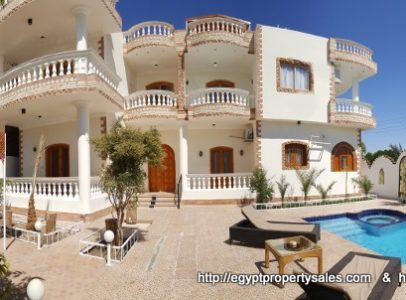 WB1828S The Concorde villa with swimming pool for sale in West Bank of Luxor