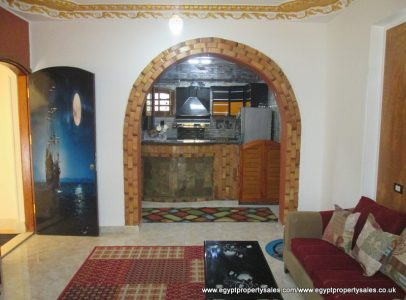 WB1801R Very attractive first floor three bedroom APT for rent in Luxor