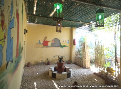 WB0667S Folkloric 1 storey two bedroom house for sale in Luxor