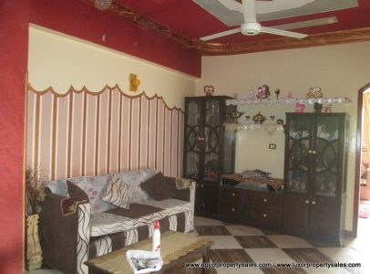 WB1938S Two bedroom apartment 2nd floor near Hatshepsut temple for sale West Bank of Luxor