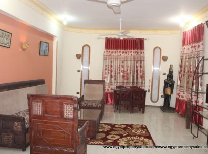 WB518R First floor 3 bedroom apartment in Esba West bank Luxor