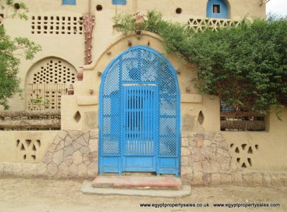 WB104S Spacious guest house for sale in West Bank Luxor known as Scorpion House
