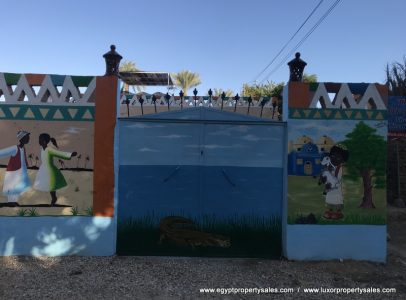 WB1903S Egyptian folkloric style Bungalow for sale in West Bank Luxor