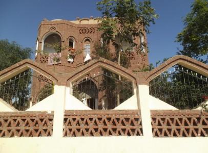WB33S Amazing Dome villa for sale mountain view in Luxor