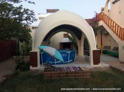 WB534S Habu Garden project with two 1 bedroom houses for sale in Luxor