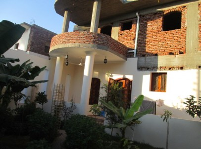 WB508S Two storey apartment building with garden and Nile view Djorf