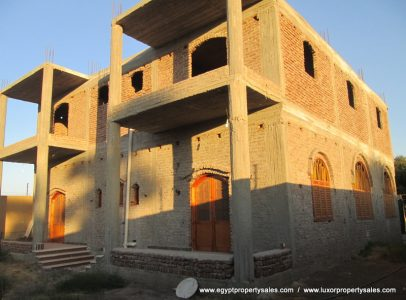 Sold ** WB1853S Two storey partial finished villa with Moroccan design and swimming pool in Luxor city