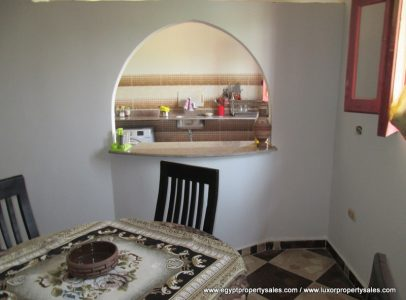 WB1850S Partially finished two bedroom villa with large outdoor area in West Bank of Luxor