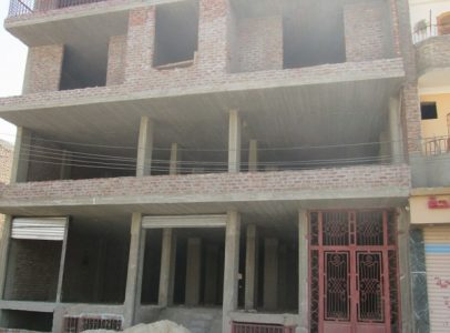 EB514S ** Sold * Unfinished 4 storey building for sale in Luxor