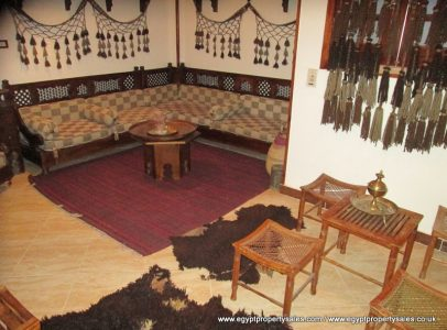 EB526S Apartment building for sale 110,000 USD East bank Luxor