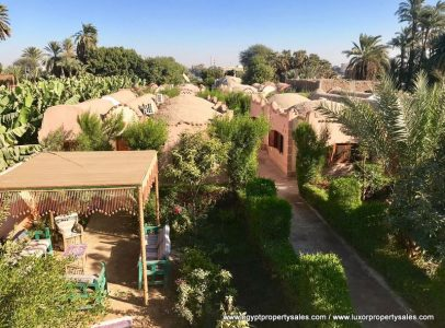 WB1935S Charming Hotel for sale situated on the West Bank of Luxor City