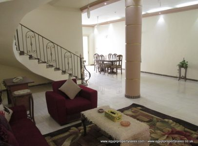 WB496R Stunning palatial 3 bedroom villa with private pool Ramla Luxor