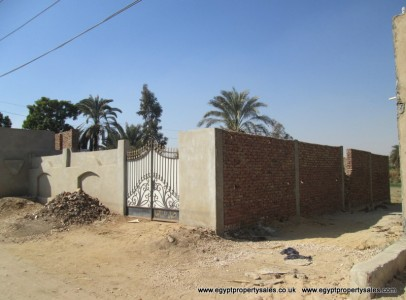 Lan0360S Piece of land for sale in Luxor facing River Nile
