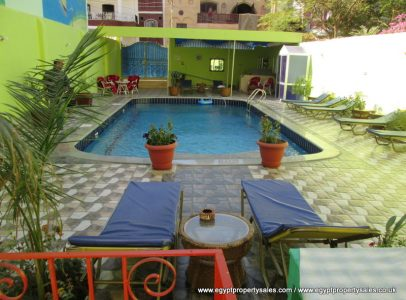 WB1213R Two bedrooms flat with shared swimming pool in Luxor