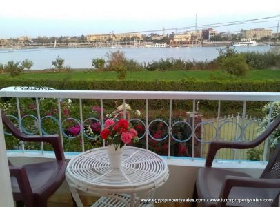 WB03R Two bedroom apartment in quiet area of Ramla on the Nile Front with fantastic Nile Views.