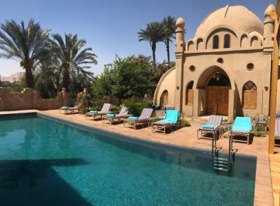 WB1855R Embrace Hotel with mix of middle ages & Nubian design