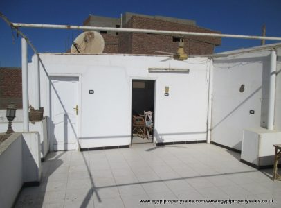 EB1726R Flat for rent Nile front of Luxor city near to major hotels