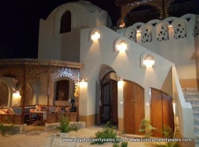 WB1916R Attractive Nubian design arabesque apartments for rent in Luxor
