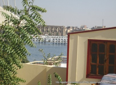 WB22R Ground floor 2 bedroom apartment Nile view & amazing roof garden