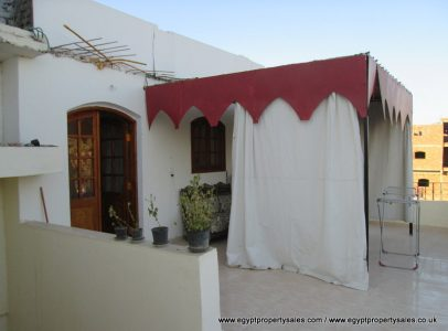WB490R Beautifully designed villa with 2 gardens for rent in West Bank of Luxor