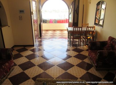 WB1711R Third floor 2 bedroom apartment with a private roof terrace Ramla Luxor