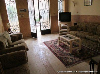 EB0101S Ground floor 2 bedrooms apartment in East Bank of Luxor