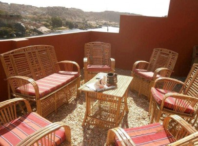 ASW02R Three bedroom apartment for rent on Sehil Island Aswan