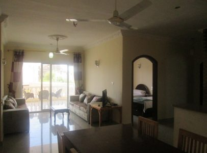 WB172R First floor two bedroom two bathroom apartment for rent with Nile views
