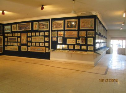 WB1949S Huge Papyrus Shop for sale in Memnon street West bank